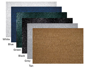 Super Mesh Color Swatches